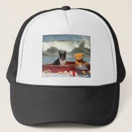 Ship wrecked trucker hat