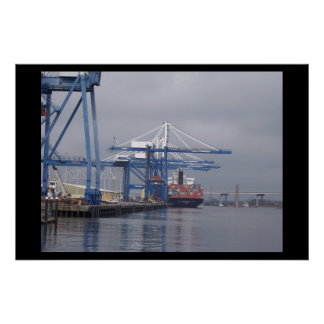 Ship Yard Poster