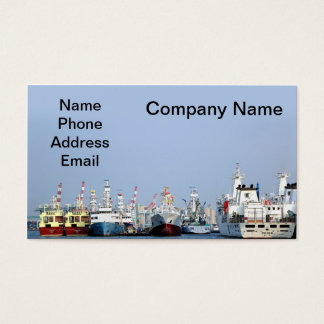 Shipbuilding and Wharf Business Card