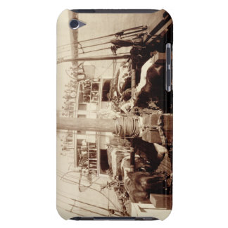 Shipping Cattle on the 'W.G. Hall', Hawaii, 1890s iPod Case-Mate Case