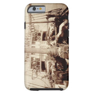Shipping Cattle on the 'W.G. Hall', Hawaii, 1890s Tough iPhone 6 Case