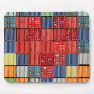 Shipping Container Heart Mouse Pad