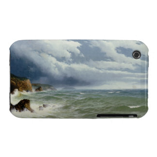 Shipping in Open Seas, 1882 (oil on canvas) iPhone 3 Covers