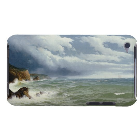 Shipping in Open Seas, 1882 (oil on canvas) Case-Mate iPod Touch Case