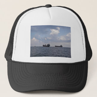 Shipping In The Black Sea Trucker Hat