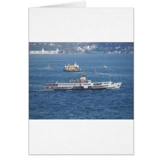 Shipping In The Bosporus Card