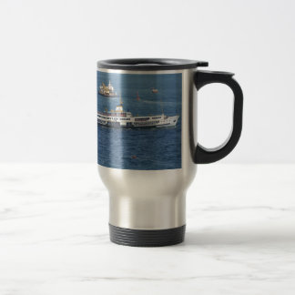 Shipping In The Bosporus Travel Mug