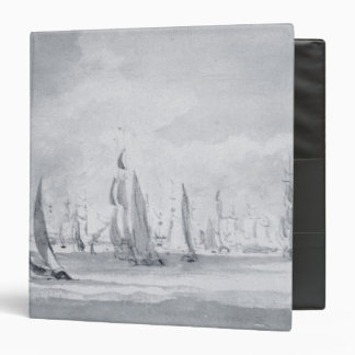 Shipping in the Thames 3 Ring Binder