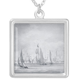 Shipping in the Thames Silver Plated Necklace