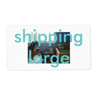 shipping large label