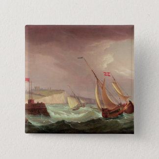 Shipping off Dover Pinback Button