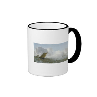 Shipping Offshore in a breeze, 17th century Mugs