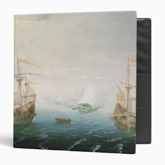 Shipping on Stormy Seas 3 Ring Binder