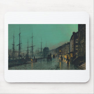 Shipping on the Clyde by John Atkinson Grimshaw Mouse Pad