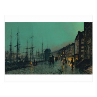 Shipping on the Clyde by John Atkinson Grimshaw Postcard