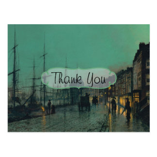 Shipping on the Clyde Thank You Postcard