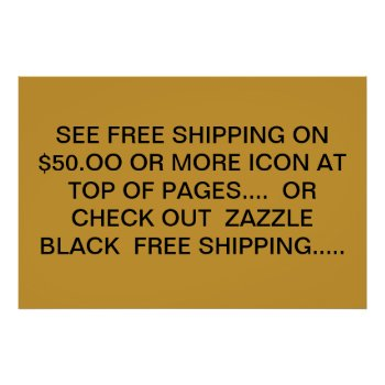 Shipping Poster by creativeconceptss at Zazzle