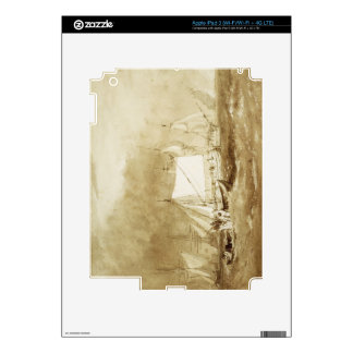 Shipping Scene, with Fishermen, c.1815-20 (brush & Decals For iPad 3