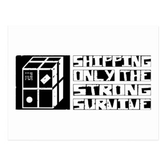 Shipping Survive Postcard