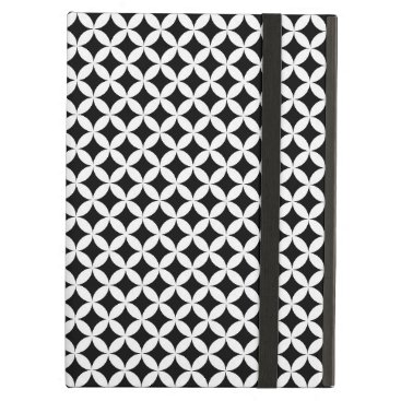 Shippo Japanese Black And White Geometric Pattern Case For iPad Air