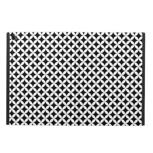 Shippo Japanese Black And White Geometric Pattern Powis iPad Air 2 Case