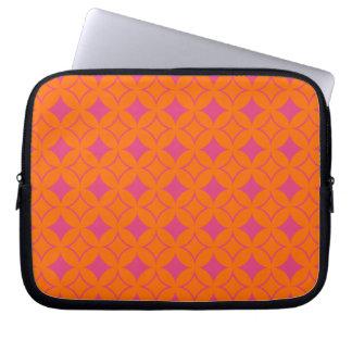 Shippo rosado y anaranjado mangas computadora