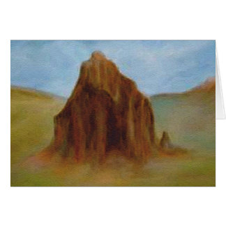 Shiprock by Laurie Mitchell Card
