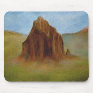 Shiprock by Laurie Mitchell Mouse Pad