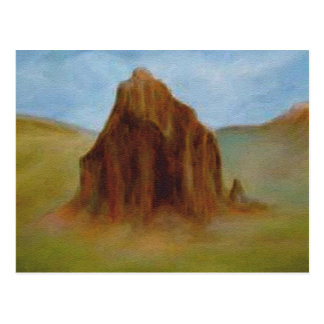Shiprock by Laurie Mitchell Postcard