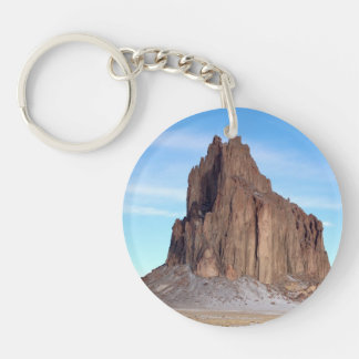 Shiprock Mountain, New Mexico Keychain