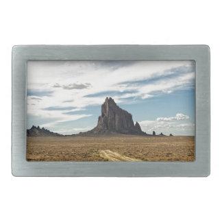 Shiprock New Mexico Mountain Southwest Landscape Rectangular Belt Buckle