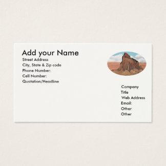 Shiprock ~ Tsé Bit' A'í ~  Business Card