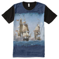 Ships 2 All-Over print t-shirt