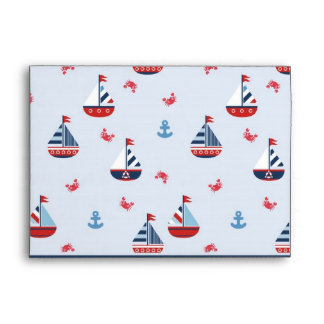 Ships Ahoy! A7 Envelope
