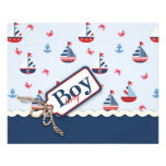 Ships Ahoy! Advice Card Personalized Flyer