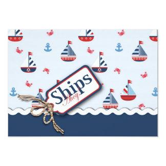 Ships Ahoy! Card 3