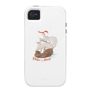 Ships Ahoy Vibe iPhone 4 Cover