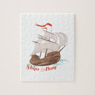 Ships Ahoy Jigsaw Puzzle