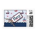 Ships Ahoy! Stamp