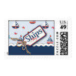 Ships Ahoy! Stamp B