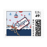 Ships Ahoy! Stamp B2