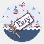 Ships Ahoy! Sticker