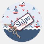 Ships Ahoy! Sticker 2