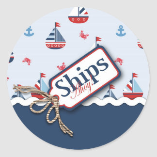Ships Ahoy! Sticker 2