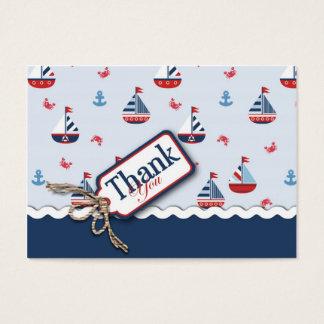 Ships Ahoy! TY Gift Tag