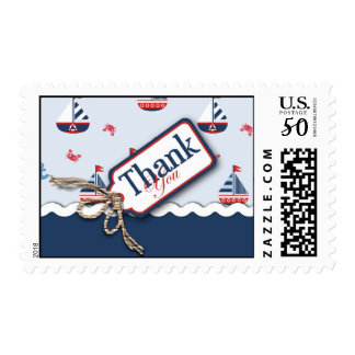 Ships Ahoy! TY Stamp