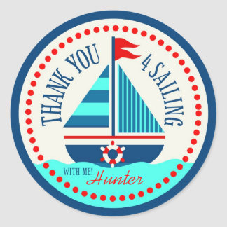 Ships Ahoy! TY Sticker