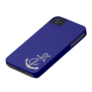 Ship's Anchor Nautical Marine-Themed Gift iPhone 4 Covers