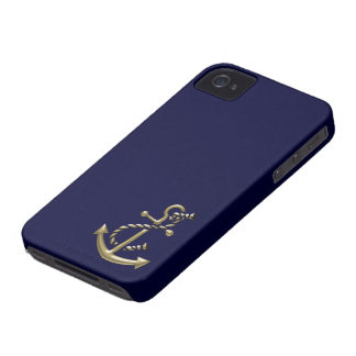 Ship's Anchor Nautical Marine-Themed Gift iPhone 4 Cases