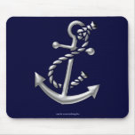 Ship's Anchor Nautical Marine-Themed Gift Mousepad